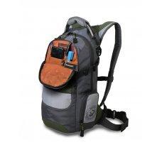 Рюкзак WENGER, серый/зеленый/серебристый, полиэстер 1200D PU, 23х18х47 см, 22 л 13024415