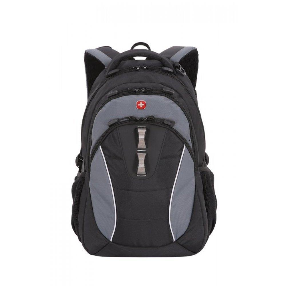 Рюкзак WENGER, 13 , черный/серый, полиэстер, 32х15х46 см, 22 л 16062415