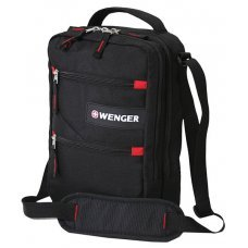 Сумка-планшет WENGER, черный, полиэстер M2, 18.5 x 15.5 x 27.5 см 18262166