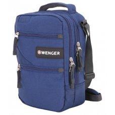 Сумка-планшет WENGER, синий, полиэстер M2, 22x9x29 см 1826343004