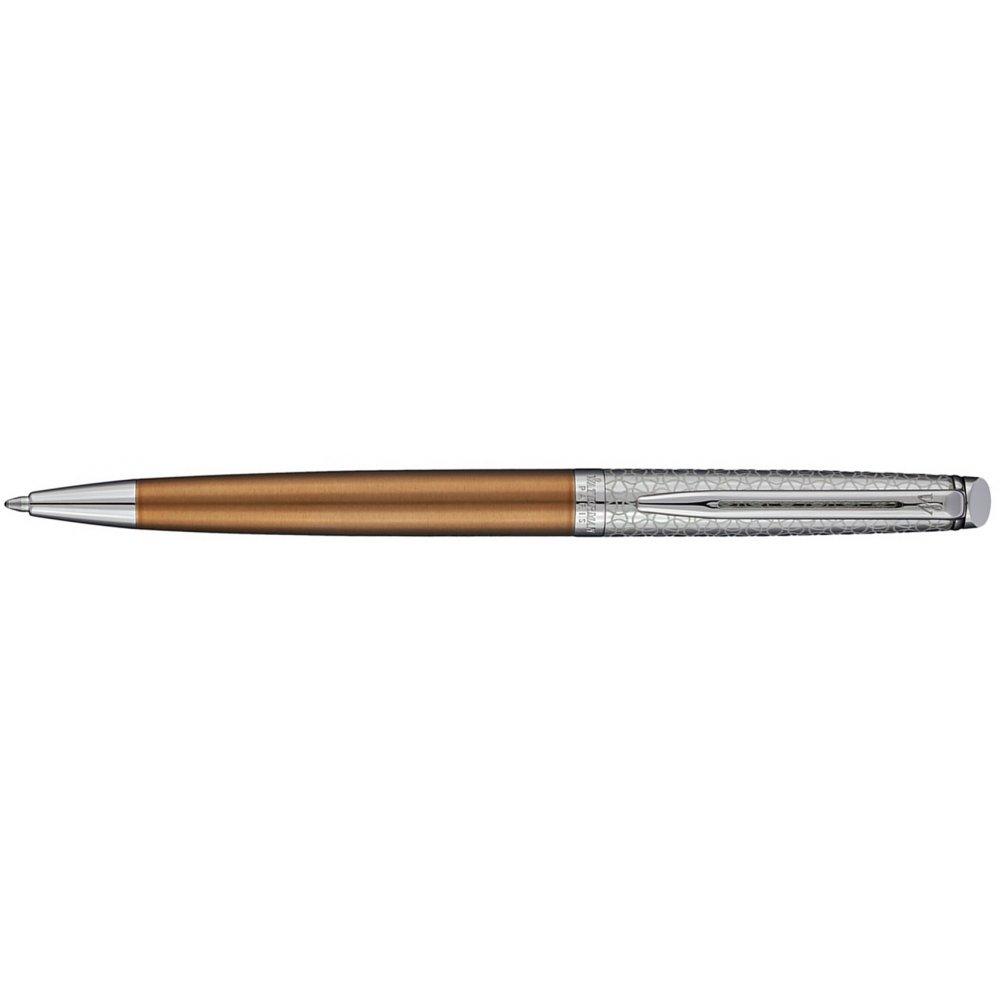 Ручка шариковая Waterman Hemisphere La Collection Privee Bronze Satiné, стальной корпус 1971620