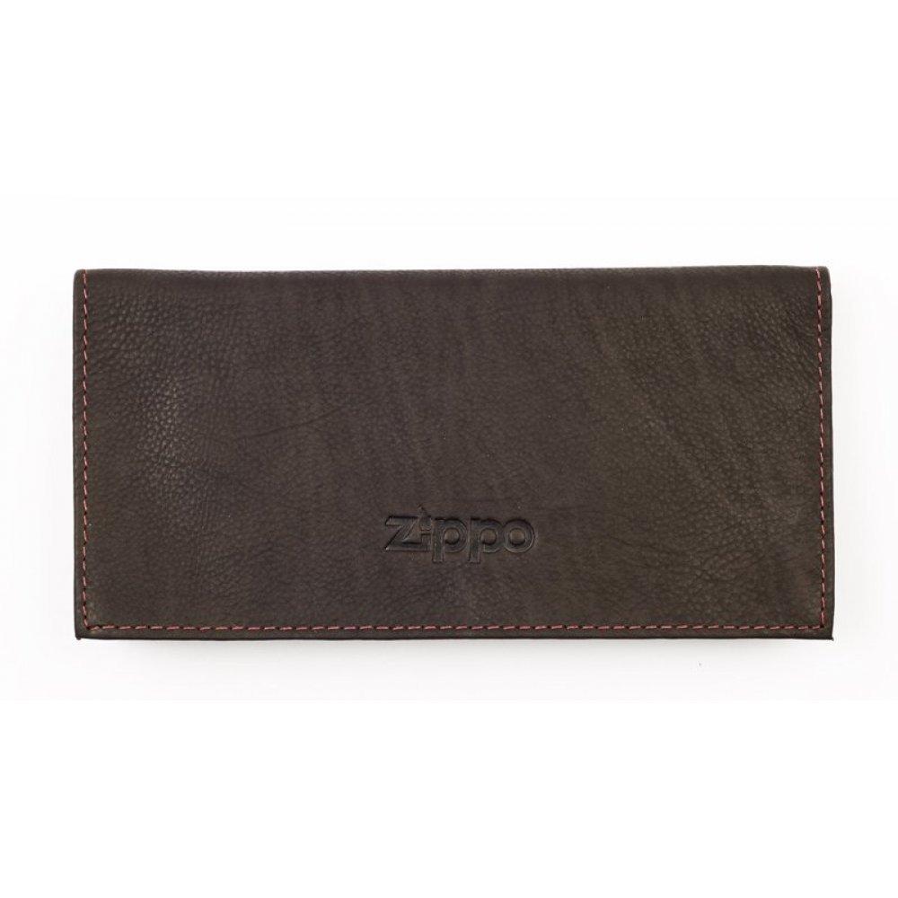 Кисет для табака ZIPPO, цвет мокко, натуральная кожа, 15.5x1.5x8 см 2005130