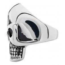 Кольцо ZIPPO, серебристое, в форме черепа, нержавеющая сталь, 2.3x3.3x0.5 см, диаметр 19.1 мм 2006284