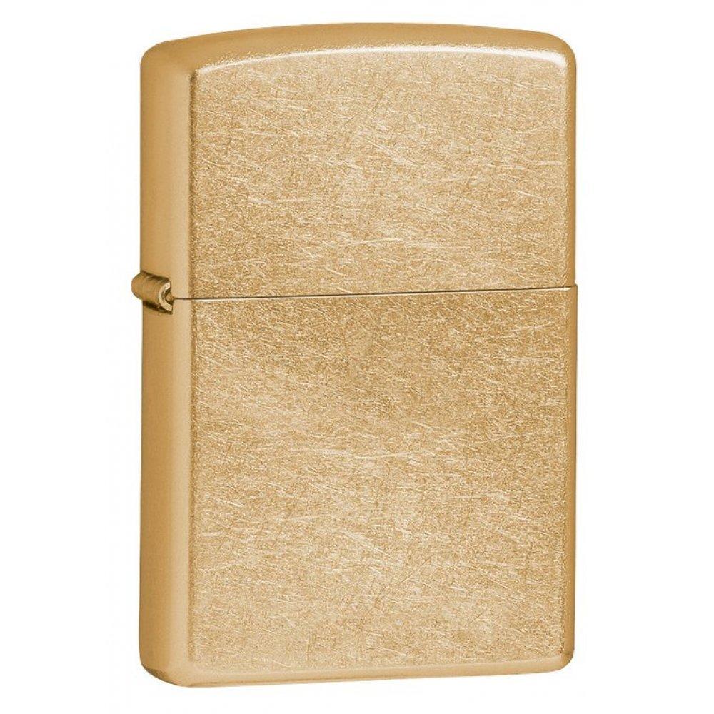 Зажигалка ZIPPO Classic с покрытием Gold Dust™, латунь/сталь, золотистая, матовая, 36x12x56 мм 207G