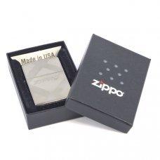 Зажигалка ZIPPO Classic с покрытием Black Ice ®, латунь/сталь, чёрная, глянцевая, 36x12x56 мм 20969