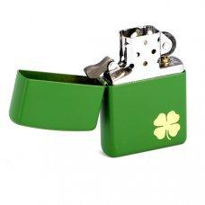 Зажигалка ZIPPO Classic с покрытием Moss Green Matte, латунь/сталь, зелёная, матовая, 36x12x56 мм 21032