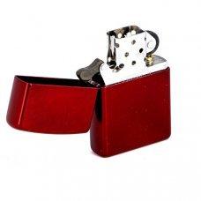 Зажигалка ZIPPO Classic с покрытием Candy Apple Red™, латунь/сталь, красная, глянцевая, 36x12x56 мм 21063