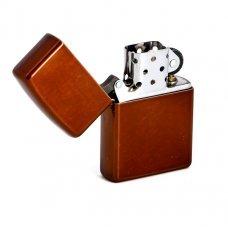Зажигалка ZIPPO Classic с покрытием Toffee™, латунь/сталь, светло-коричневая, матовая, 36x12x56 мм 21184
