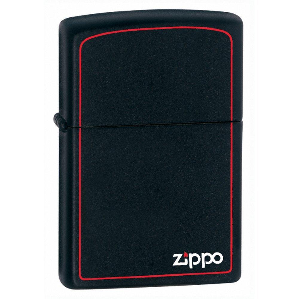 Зажигалка ZIPPO Classic с покрытием Black Matte, латунь/сталь, чёрная, матовая, 36x12x56 мм 218ZB