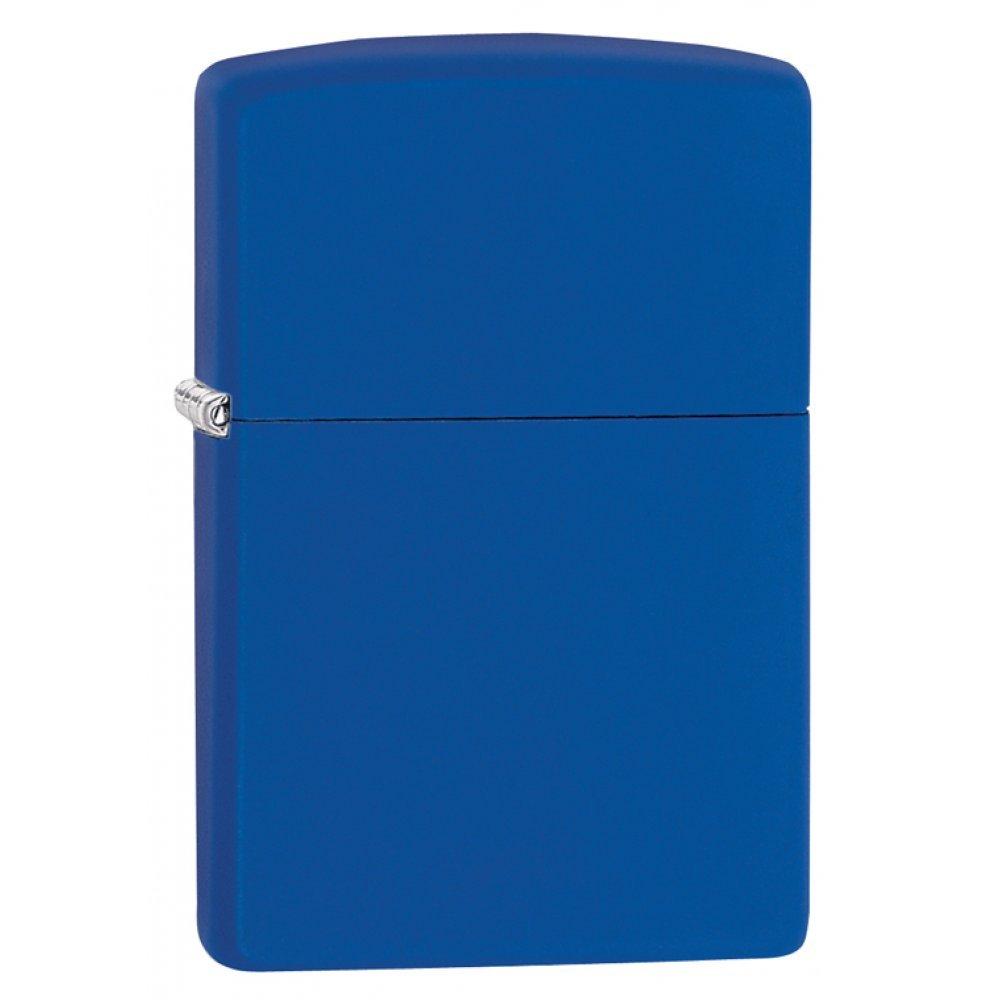 Зажигалка ZIPPO Classic с покрытием Royal Blue Matte, латунь/сталь, синяя, матовая, 36x12x56 мм 229