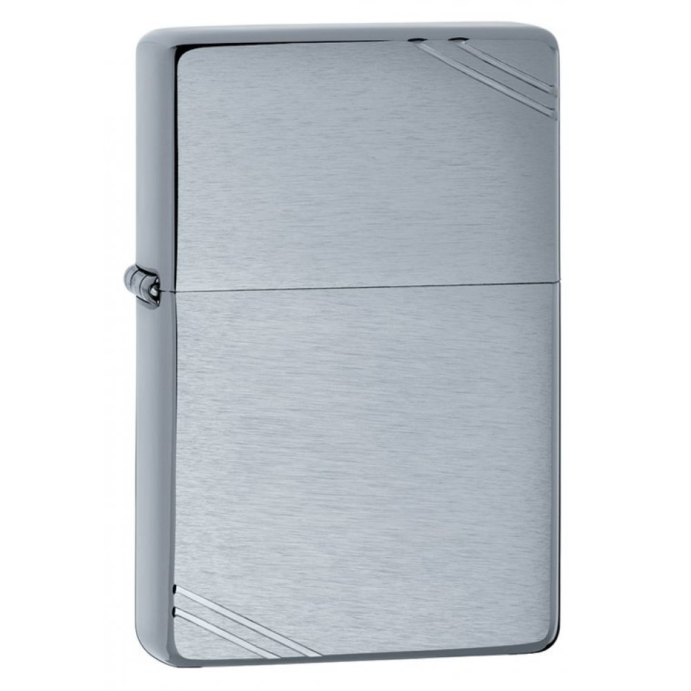 Зажигалка ZIPPO Vintage™ Series 1937, с покрытием High Polish Chrome, серебристая, 36x12x56 мм 230