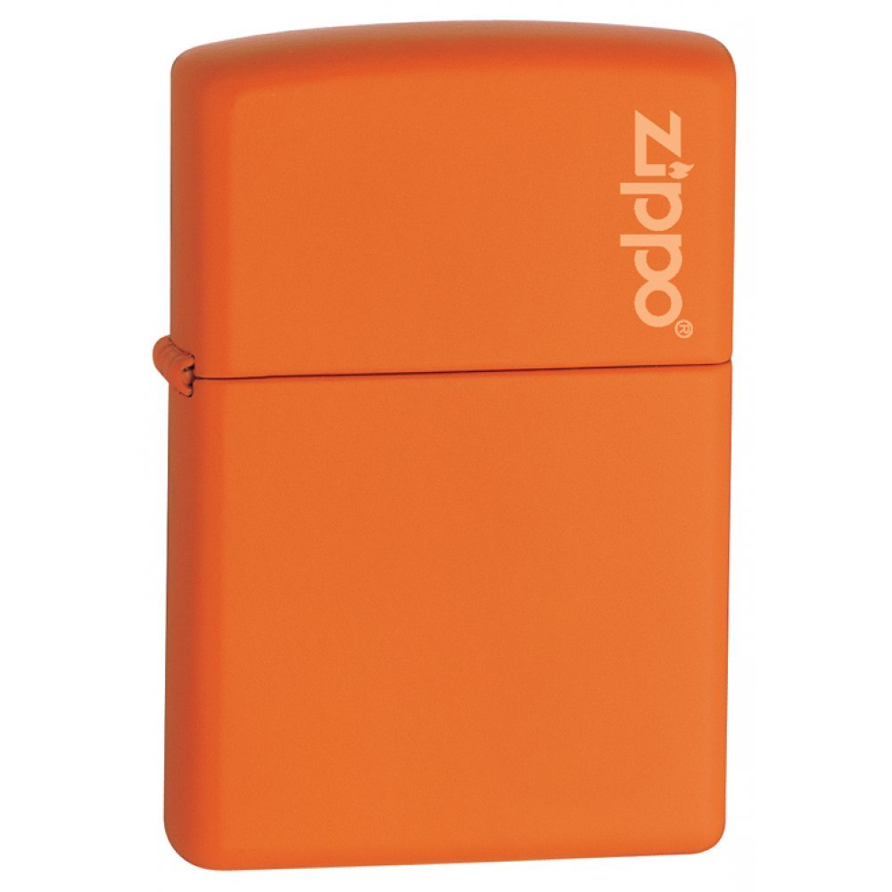Зажигалка ZIPPO Classic с покрытием Orange Matte, латунь/сталь, оранжевая, матовая, 36x12x56 мм 231ZL