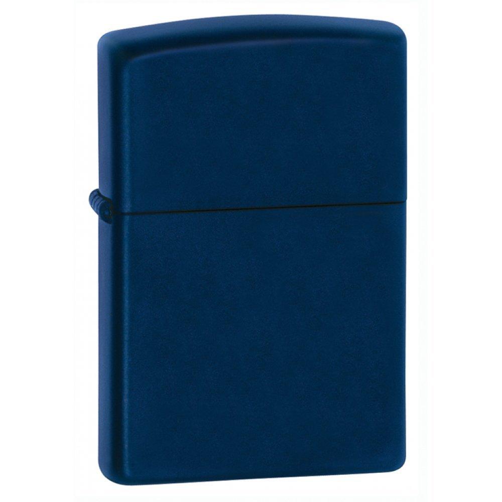 Зажигалка ZIPPO Classic с покрытием Navy Matte, латунь/сталь, синяя, матовая, 36x12x56 мм 239