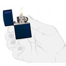 Зажигалка ZIPPO Classic с покрытием Navy Matte, латунь/сталь, синяя, матовая, 36x12x56 мм 239ZL