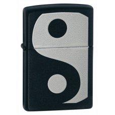 Зажигалка ZIPPO Classic с покрытием Black Matte, латунь/сталь, чёрная, матовая, 36x12x56 мм 24472