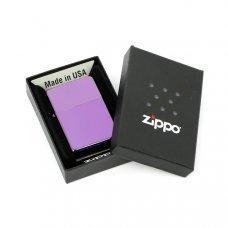 Зажигалка ZIPPO Classic с покрытием Abyss™, латунь/сталь, сиреневая, глянцевая, 36x12x56 мм 24747