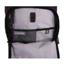 Рюкзак WENGER 15, чёрный, полиэстер 900D/ М2 добби, 29х15х47 см, 20 л 2717202408