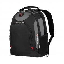 Рюкзак WENGER 16, серый, полиэстер, 35 x 24 x 46 см, 22 л 28018050