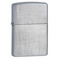 Зажигалка ZIPPO Classic с покрытием Brushed Chrome, латунь/сталь, серебристая, матовая, 36x12x56 мм 28181