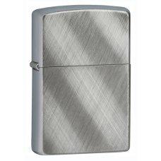Зажигалка ZIPPO Classic с покрытием Brushed Chrome, латунь/сталь, серебристая, матовая, 36x12x56 мм 28182
