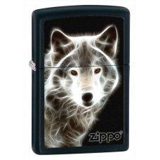 Зажигалка ZIPPO Classic с покрытием Black Matte, латунь/сталь, чёрная, матовая, 36x12x56 мм 28303