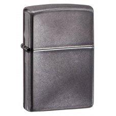 Зажигалка ZIPPO Classic с покрытием Gray Dusk , латунь/сталь, серая, матовая, 36x12x56 мм 28378