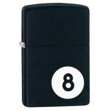 Зажигалка ZIPPO Classic с покрытием Black Matte, латунь/сталь, чёрная, матовая, 36x12x56 мм 28432
