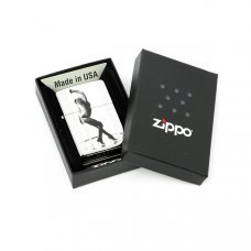 Зажигалка ZIPPO Classic с покрытием High Polish Chrome, латунь/сталь, серебристая, 36x12x56 мм 28448