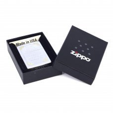 Зажигалка ZIPPO Classic с покрытием Satin Chrome™, латунь/сталь, серебристая, матовая, 36x12x56 мм 28458
