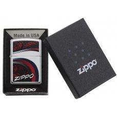 Зажигалка ZIPPO Classic с покрытием High Polish Chrome, латунь/сталь, серебристая, 36x12x56 мм 29415