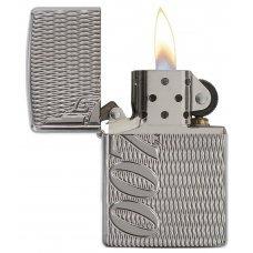 Зажигалка ZIPPO James Bond с покрытием High Polish Chrome, латунь/сталь, серебристая, 36x12x56 мм 29550