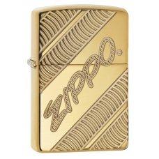 Зажигалка ZIPPO Armor® с покрытием High Polish Brass, латунь/сталь, золотистая, 36x12x56 мм 29625