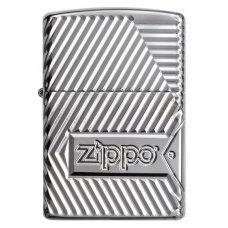 Зажигалка ZIPPO Armor® с покрытием High Polish Chrome, латунь/сталь, серебристая, 37х13x58 мм 29672