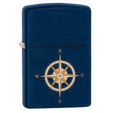Зажигалка ZIPPO с покрытием Navy Matte, латунь/сталь, синяя, матовая, 36x12x56 мм 29918