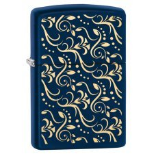 Зажигалка ZIPPO с покрытием Navy Matte, латунь/сталь, синяя, матовая, 36x12x56 мм 29926
