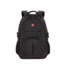 Рюкзак WENGER, чёрный, полиэстер, 33х15х45 см, 22 л 3001202408