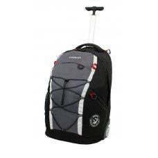 Рюкзак на колёсах WENGER, чёрный/серый, полиэстер 900D, 33х21х50 см, 35 л 3053204461