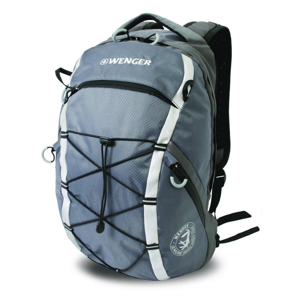 Рюкзак WENGER, серый, полиэстер 900D, 29х19х47 см, 25 л 30534499