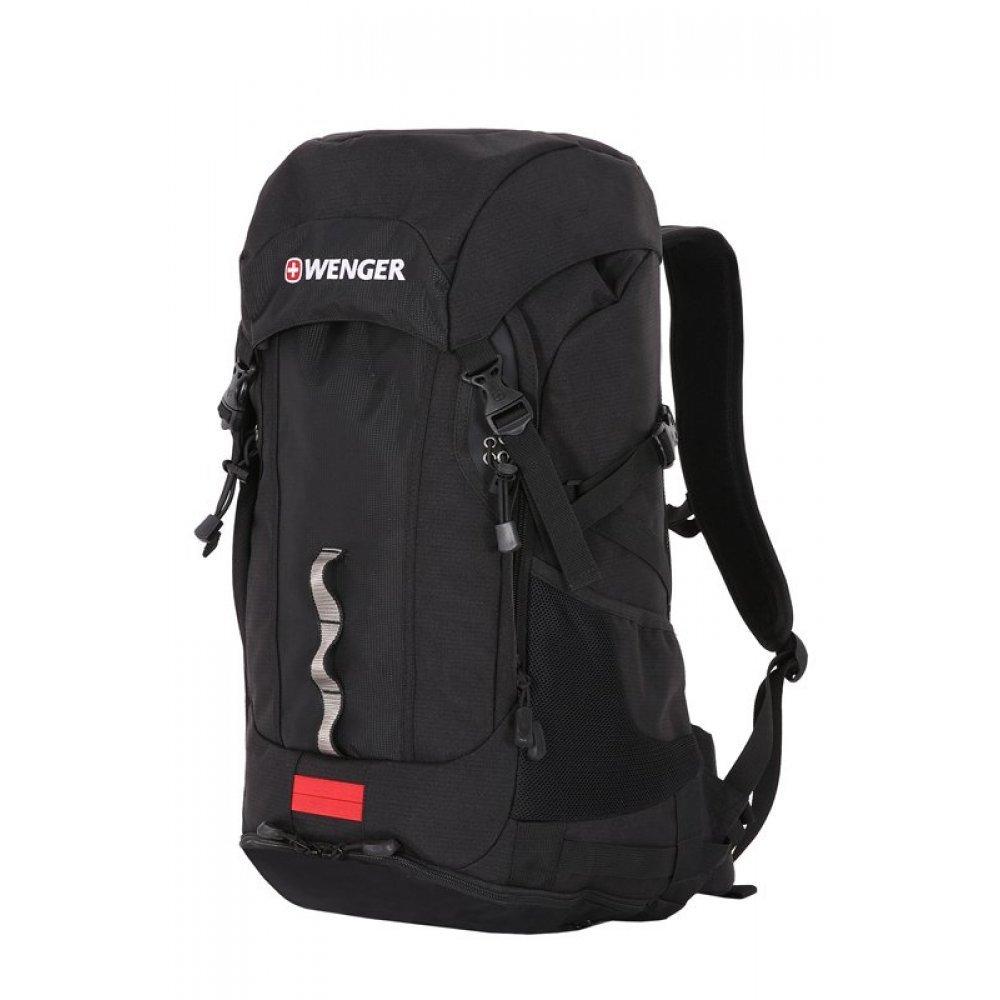 Рюкзак WENGER цв. серый/черный, полиэстер , 33х25х61 см (50л.) 30582299