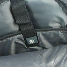 """Рюкзак WENGER,15"""", черный с рисунком в клетку, полиэстер 900D, 33x20x47 см, 32 л 3107204408"""