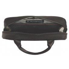 Несессер VICTORINOX Lifestyle Accessories 4.0 Overnight Essentials Kit, чёрный, нейлон, 23x4x13 см