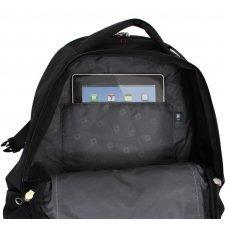 """Рюкзак WENGER, 15"""",чёрный/синий, полиэстер 900D/рипстоп, 36x19x47 см, 32 л 3118203408"""