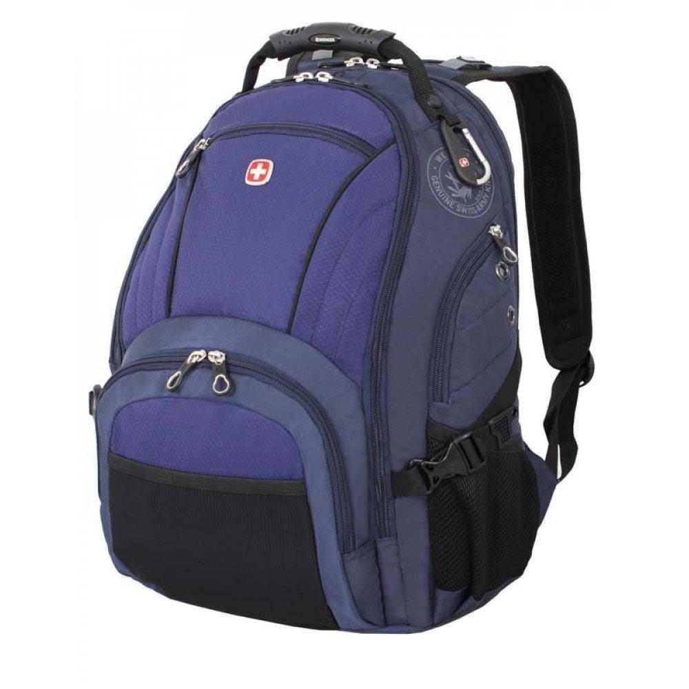 "Рюкзак WENGER, 15"",синий/чёрный, полиэстер 900D/хонейкомб, 35x19x44 см, 29 л 3181303408"