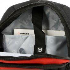 Рюкзак WENGER, 15, красный/черный/серый, полиэстер 600D/2 мм рипстоп/фьюжн, 33x15x45 см, 22 л 3191201408
