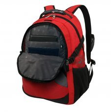 """Рюкзак WENGER, 15"""",красный/серый/чёрный, полиэстер, 34х19х47, 32 л 3259112410"""