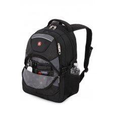 """Рюкзак WENGER, 15"""", чёрный/серый, полиэстер, 34х17х47, 32 л 3259204410"""