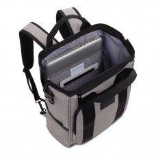 Рюкзак SWISSGEAR 16.5, серый/черный, полиэстер 900D/ПВХ, 29 x 17 x 41 см, 20 л 3577424405