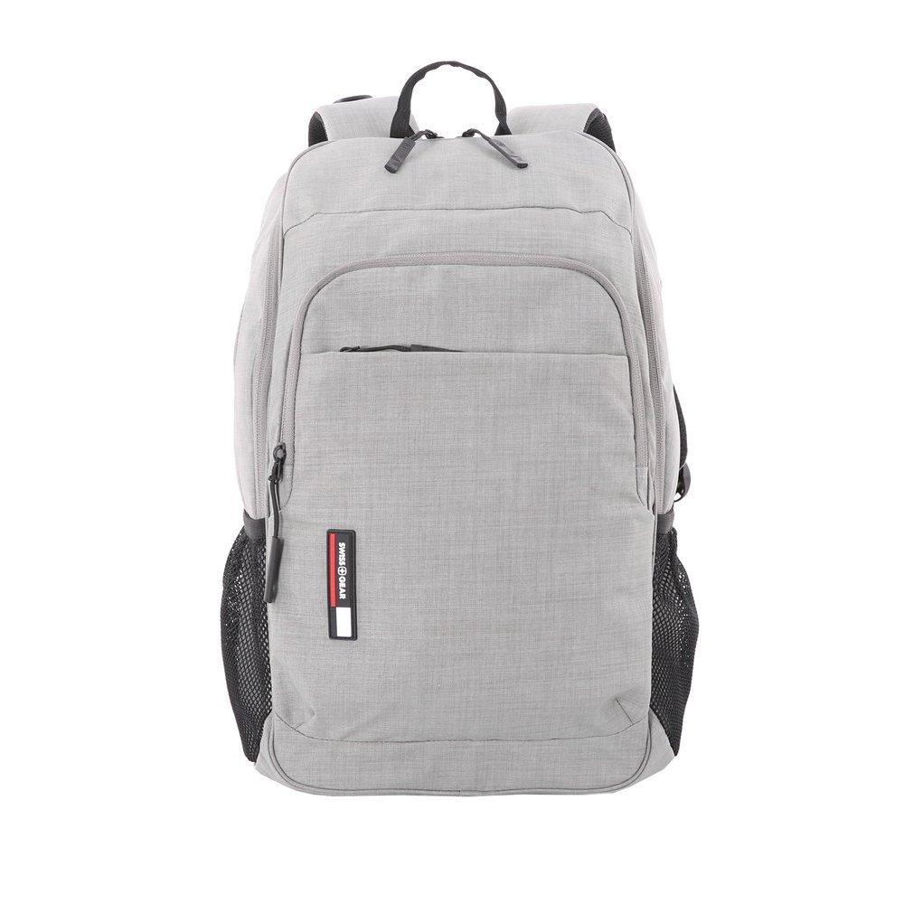 Рюкзак SWISSGEAR 15.6, светло-серый, ткань Heather, 31 x 16 x 45 см, 22 л 3618424420