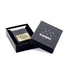Зажигалка ZIPPO Classic с покрытием Black Crackle™, латунь/сталь, чёрная, матовая, 36x12x56 мм 362