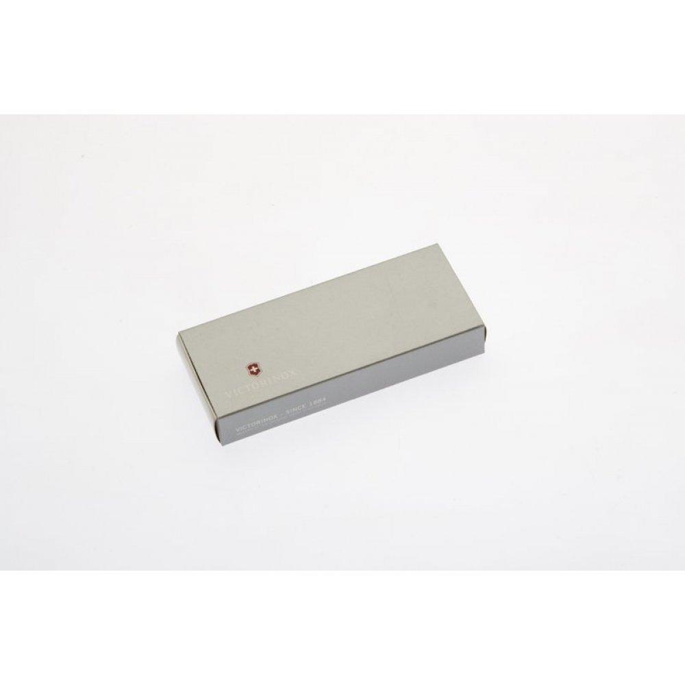 Коробка для ножей VICTORINOX 58 мм толщиной 1-2 уровня, картонная, серебристая 4.0062.07